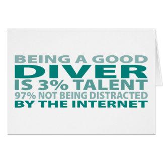 Diver 3% Talent Card