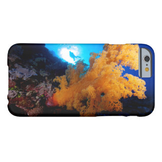 Diver and Soft Coral on the Great Barrier Reef Barely There iPhone 6 Case