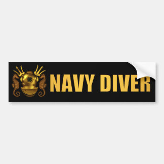 diver bumpersticker bumper stickers