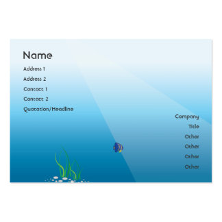Diver - Chubby Large Business Card