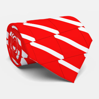 Diver Down Classic Flag Scuba Diving Awesome Neck Tie