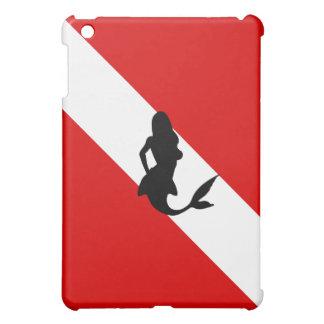 Diver Down Flag: Mermaid Case For The iPad Mini