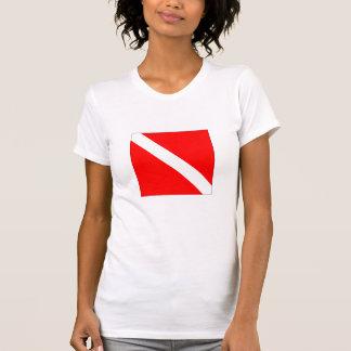 Diver Down Flag Tee Shirt