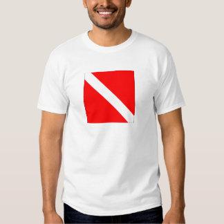Diver Down Flag Tee Shirts