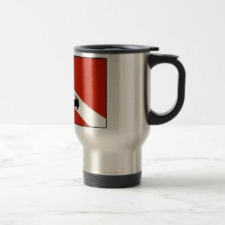 Diver Flag 2 Travel Mug