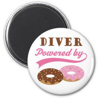Diver Funny Gift Fridge Magnet