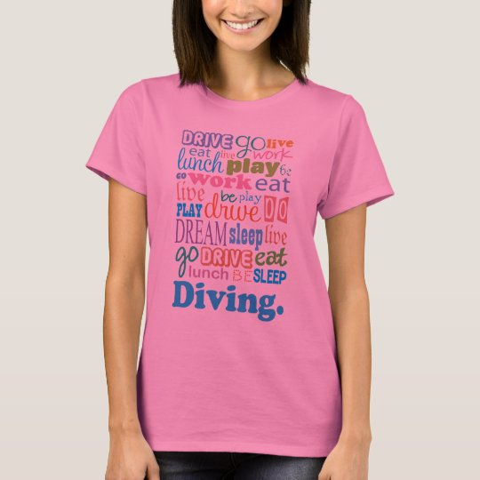Diver Gift For Woman T-Shirt