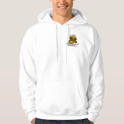 diver logo hoodie
