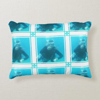 Diver Accent Pillow