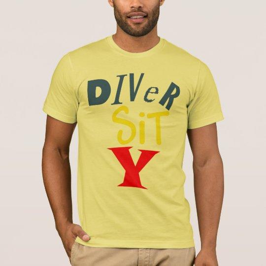 Diver Sit Y American Apparel Tee