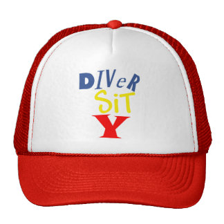 Diver Sit Y Cap Trucker Hat