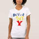 Diver Sit Y Micro-Fiber Singlet T-shirt