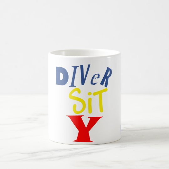 Diver Sit Y Mug (center style)