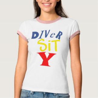 Diver Sit Y Ringer Tee