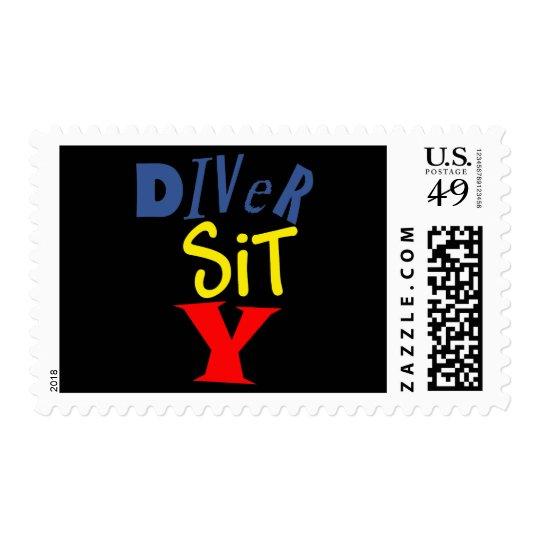 Diver Sit Y Stamp