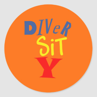 Diver Sit Y Stickers