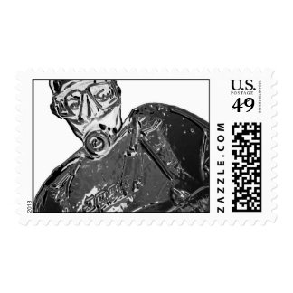 diver  stamps