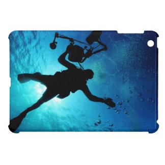 Diver underwater iPad mini cases