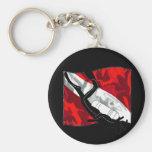 DiverDown Collection Keychain