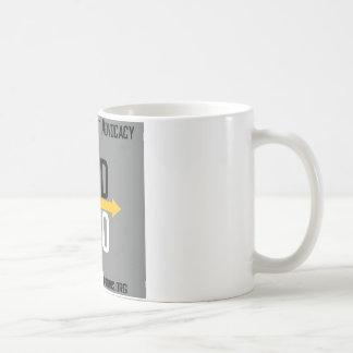 Divergent Options Square Logo Mug