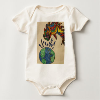 Diveristy means... baby bodysuit