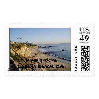 Diver's Cove, Laguna Beach, CA Stamp