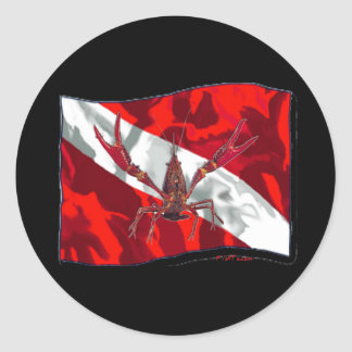 Divers Den Collection Classic Round Sticker