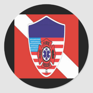 Divers Den Special Collection Classic Round Sticker