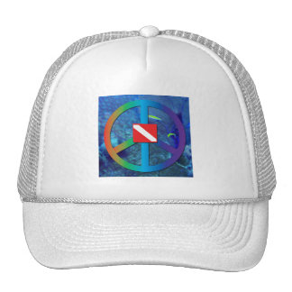 Divers for Peace Trucker Hat
