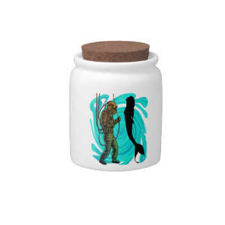 Divers Treasure Candy Jar