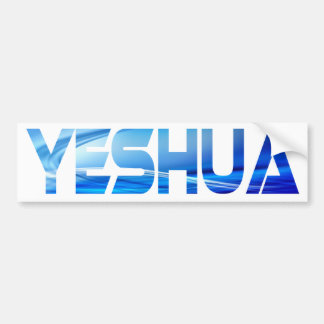 Divers Yeshua Effet eau TIF Bumper Sticker