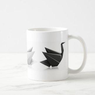 Diversa metáfora del cisne negro taza