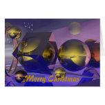 Diversa tarjeta de Navidad