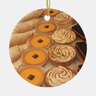 Diversas clases de pasteles ornaments para arbol de navidad