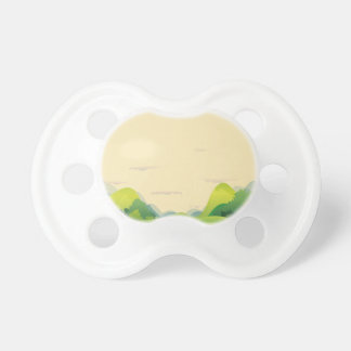 Diversas formas de relieve chupete de bebé