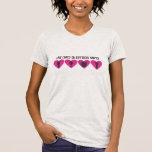 Diversas formas del amor camisetas
