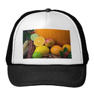 Diversas frutas gorro
