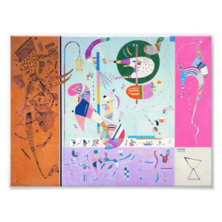 Diversas piezas de Kandinsky Fotografías