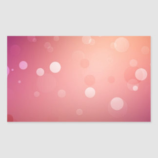 Diversas sombras abstractas del rojo pegatina rectangular