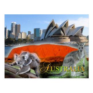 Diverse Australia Postcard