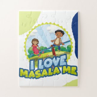 Diverse children's products-I Love Masala Me Jigsaw Puzzle