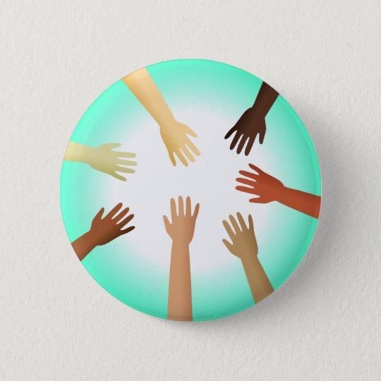 Diverse Hands Button