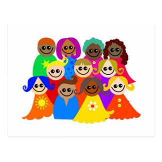 Diverse Kids Postcard