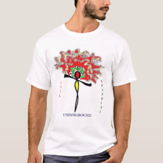 DIVERSE PERSONA UNDERGROUND GRAFFITIED GYPSY SRS T-Shirt