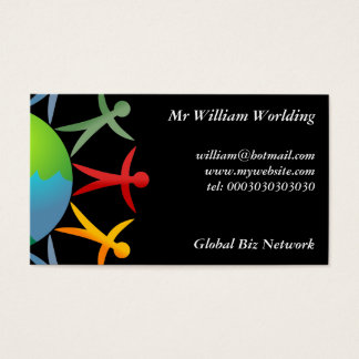 Diverse World, Business Card