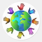 Diverse World Classic Round Sticker