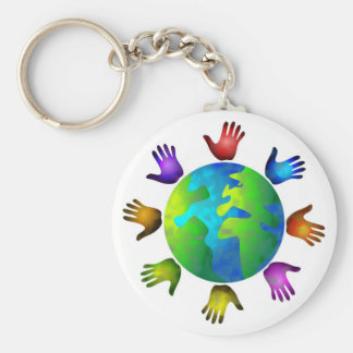 Diverse World Keychain