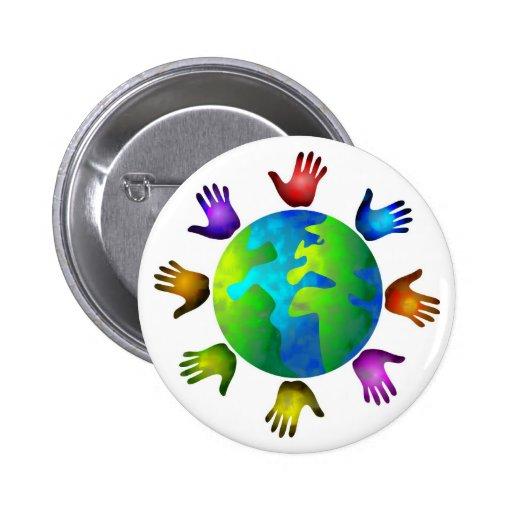 Diverse World Pin