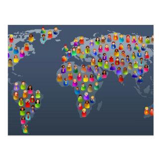 Diverse World Postcard