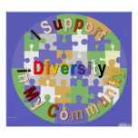 Diversidad de la ayuda en mi poster de la comunida